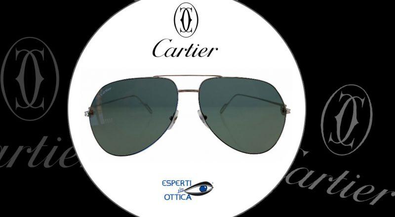 Esperti in Ottica - Offerta vendita online occhiali da sole CARTIER modello CT 01105